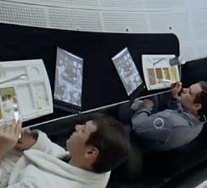 Stanley Kubrick, inventor del iPad según Samsung