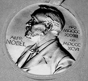 Cómo se escribe Premio Nobel