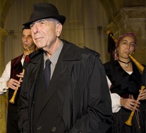 Leonard Cohen, Premio Príncipe de Asturias, en Oviedo