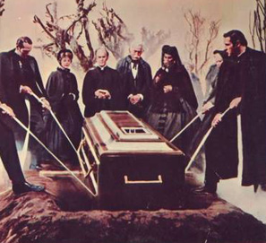 Entierro no es lo mismo que funeral