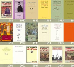 Editorial Pre-Textos cumple 35 años