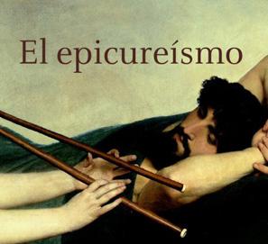 La portada de El epicureismo de Emilio Lledó