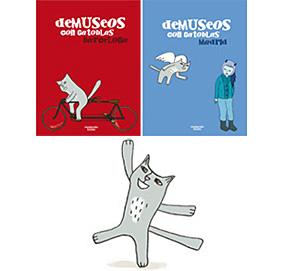 De museos con Gatoblas en Madrid y Barcelona, Modernito Books