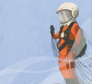 Rita y el astronauta Gagarin, de Jorge del Corral y A. Amago