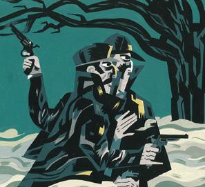 El perro de los Baskerville de Arthur Conan Doyle, ilustrado