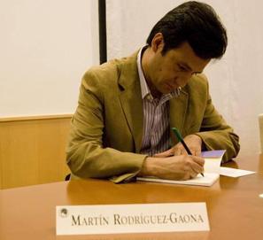 Martín Rodríguez-Gaona, premio Cáceres. Patrimonio de la Humadidad