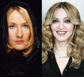J. K. Rowling está escribiendo la biografía de Madonna