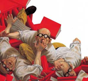Vicente Luis Mora, El lectoespectador