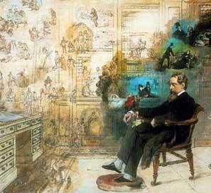 Charles Dickens: ilustraciones