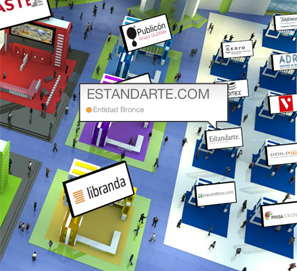 Chat de Estandarte en la Feria Virtual del Libro