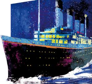 El hundimiento del Titán: Morgan Robertson y el Titanic