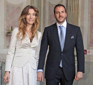 Borja Thyssen y Blanca Cuesta venden libros con Caramelo