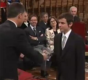 Discurso de Nicanor Parra en el Premio Cervantes