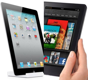 Amazon y el Kindle Fire 2 - comparativa iPad Kindle Fire