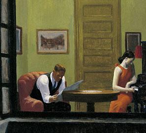 Hopper y las portadas de libros