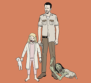 Ensayos sobre zombis: The Walking Dead