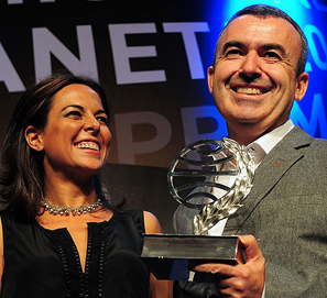 Premio Planeta 2012: Lorenzo Silva y Mara Torres