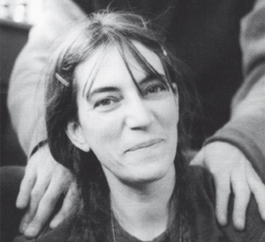 Fotografías de Patti Smith por Michael Stipe