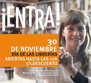 Día de las Librerías en España: 30 de noviembre