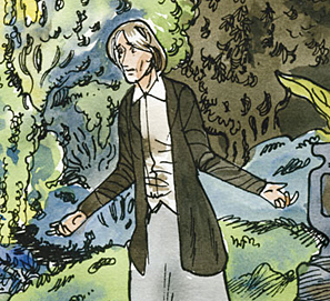 Virginia Woolf en cómic