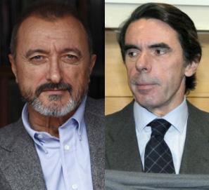 Arturo Pérez Reverte escribe la biografía de Aznar