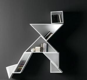 Selección de estanterías modernas, de madera, modulares, baratas...