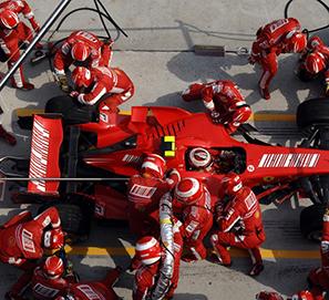 Extranjerismos Fórmula 1: pole position - grip - pit lane