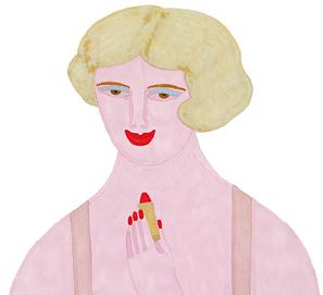 Una rubia imponente de Dorothy Parker ilustrado por Elisa Arguilé