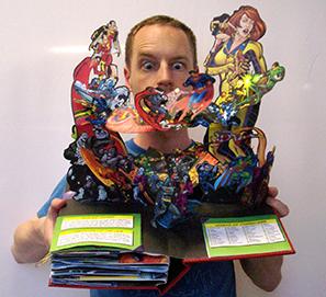 La Noche de los Libros taller libros pop-up