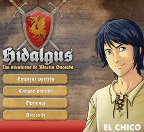 Hidalgus juego app de literatura española del Siglo de Oro