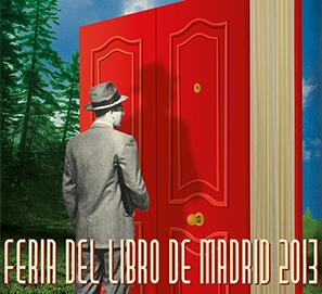 Cartel de Juan Gatti para la Feria del Libro de Madrid 2013