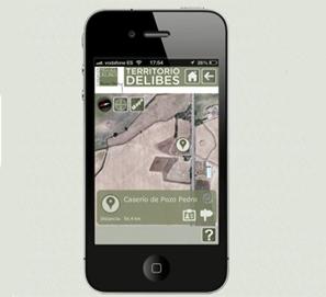 Aplicación app para móvil Territorio Delibes