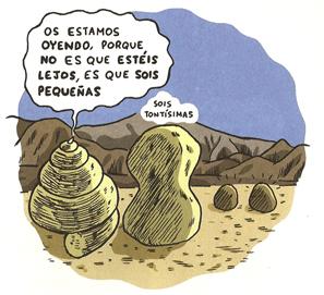 Realidad a la piedra de Joaquín Reyes