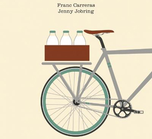 El lechero en bicicleta, de Franc Carreras y Jenny Jobring