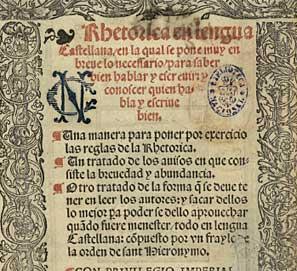 El diálogo de la lengua; joyas bibliográficas Biblioteca Nacional