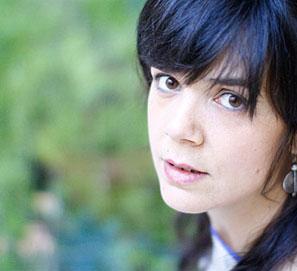 Lara Moreno, ganadora del Premio Cosecha Eñe