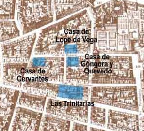 Pérez-Reverte y su ruta por el Barrio de las Letras de Madrid