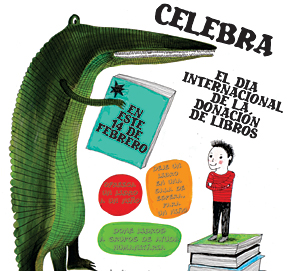 14 de febrero es International Book Giving Day - donar libros a niños