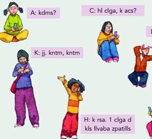 Polémico manual de lengua que enseña a escribir para móviles