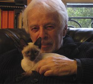 Galería de escritores y gatos