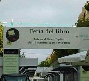 Faltas de ortografía en Feria del Libro de Córdoba