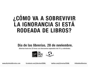 Este viernes 28, Día de las Librerías