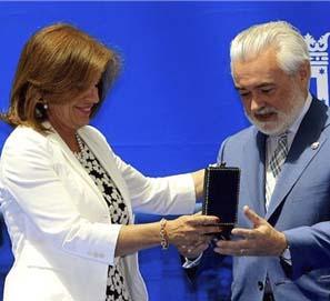 La RAE, Medalla de Oro de Madrid y Premio de Internet