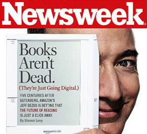 Newsweek Jeff Bezos Kindle Cover