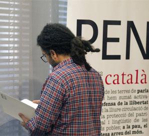 Ugar, escritor acogido en Barcelona por el PEN Club
