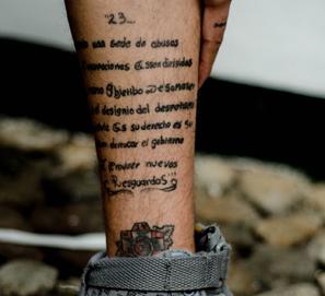 Faltas de ortografía en tatuajes... corregidas