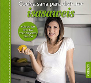 Isasaweis presenta su nuevo libro de cocina