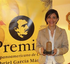 Premio García Márquez: Magela Baudoin, La composición de la sal