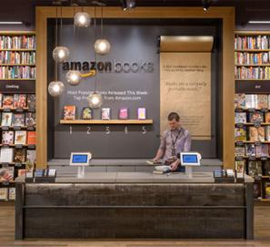La cadena de librerías físicas de Amazon