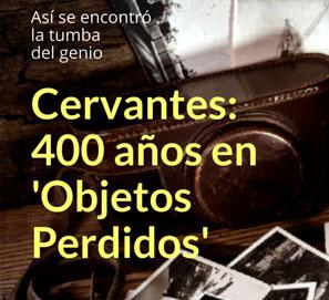 El libro sobre la búsqueda de la tumba de Cervantes